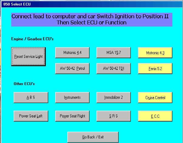 Opel Tech2 Диагностика